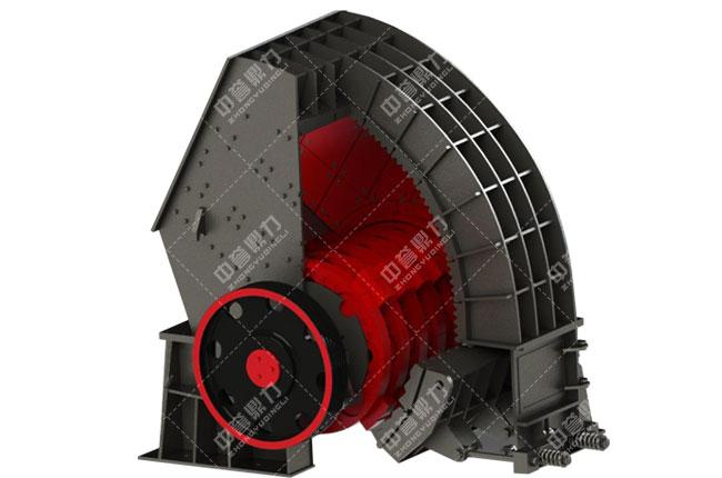 锤式破碎机内部结构图