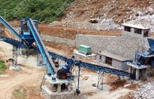 广西时产350吨砂石骨料生产线
