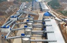 天然资源有限公司日产3万吨砂石