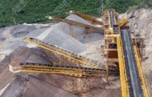 贵州六盘水时产800吨砂石料生产线