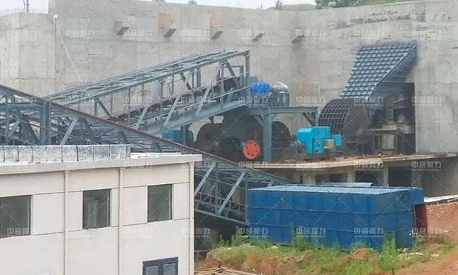 确山县1000万吨石料生产线