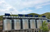 山西长治时产1000吨碎石生产线