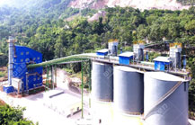 商洛尧柏秀山水泥时产500吨砂石